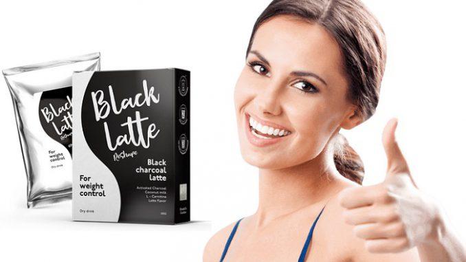 Black Latte drink, sterk verminderen van de extra pond